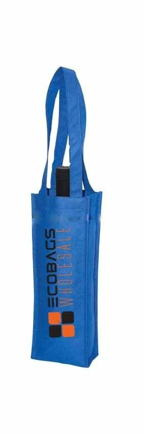Non Woven Wine Bag - 1 Bottle NW41