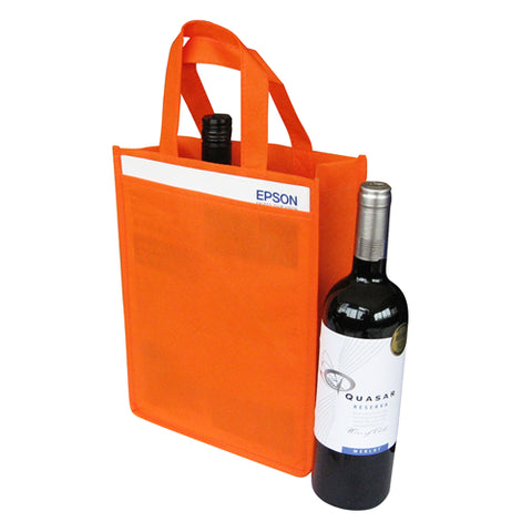 Non Woven 2 Bottle Bag NWB013