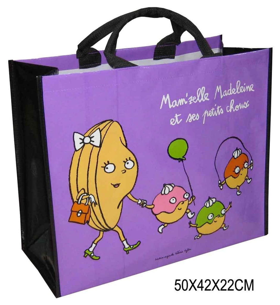 Non Woven Laminated - Grocery Custom Tote Bag  -Large NWL154