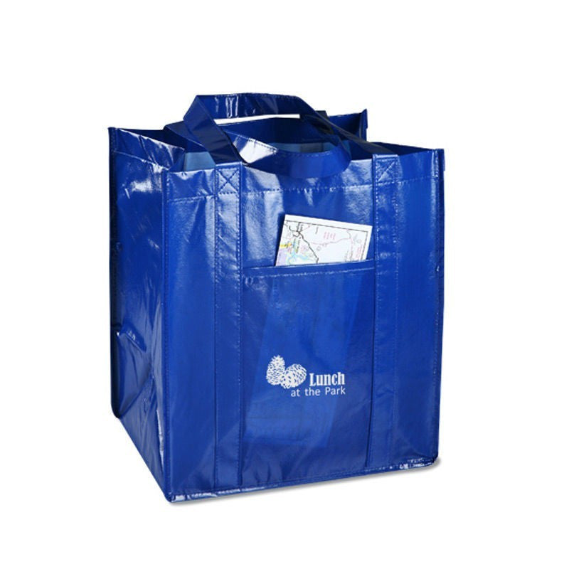 Non Woven Laminated Clear Tote Bag NWL175