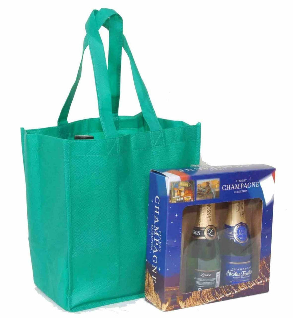 Non Woven Wine Bottle Bag For 6 Bottles Standard NWW104