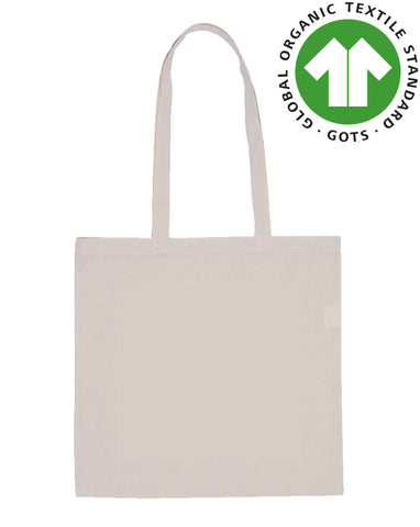 Organic Cotton Bag - Flat Plain Bag