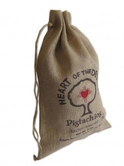 Jute Hessian Custom Pouch Large