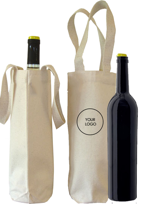 Canvas  Water Bottle Bag