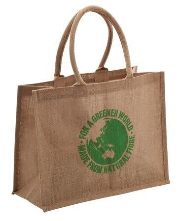 Jute Carry Bag 32x41x19cm Web Cord JB6110