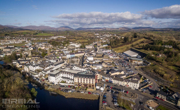 Donegal Town, County Donegal on a gorgeous Spring afternoon - Digital Download. - Aerial Creations - Amazing Aerial Photography of Ireland.
