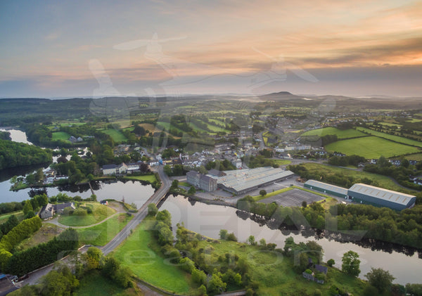Belleek, Fermanagh - Digital Download - Aerial Creations - Amazing Aerial Photography of Ireland.