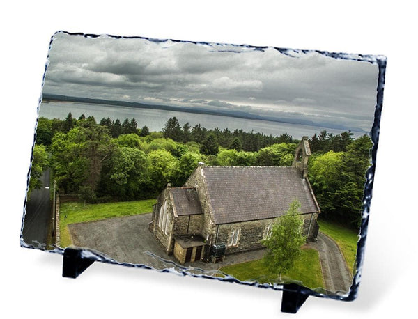Christ Church, Mountcharles, County Donegal - Slate - Aerial Creations - Amazing Aerial Photography of Ireland.