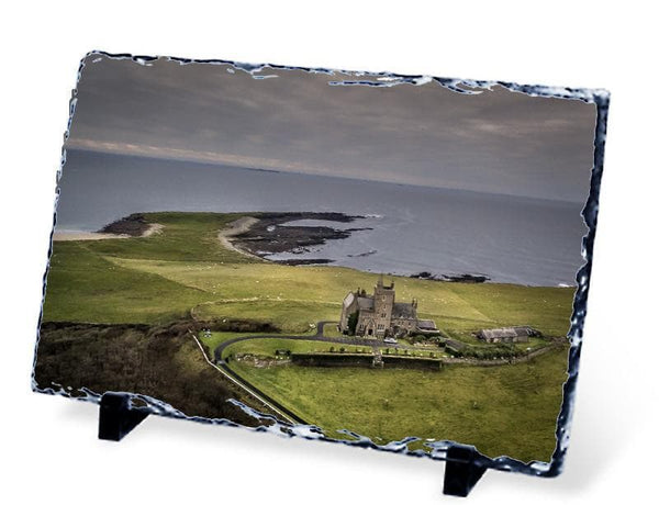 Classiebawn Castle, Mullaghmore, Sligo - Slate - Aerial Creations - Amazing Aerial Photography of Ireland.