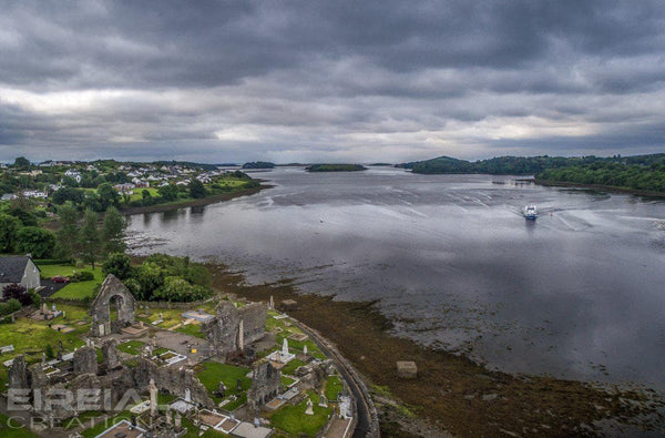 Donegal Bay and Waterbus, County Donegal - Photo Print - Aerial Creations - Amazing Aerial Photography of Ireland.