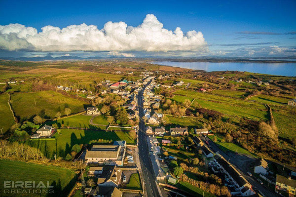 Dunkineely, County Donegal - Digital Download. - Aerial Creations - Amazing Aerial Photography of Ireland.