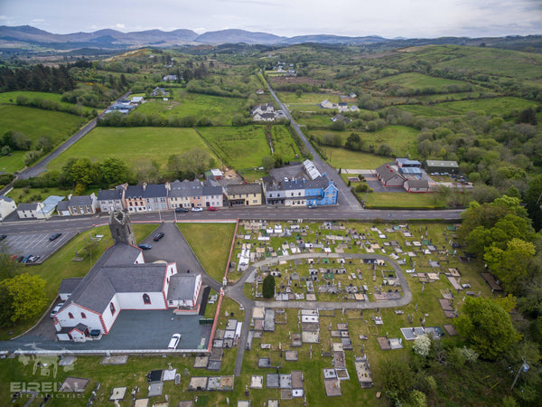 The Village of Frosses, County Donegal - Digital Download - Aerial Creations - Amazing Aerial Photography of Ireland.