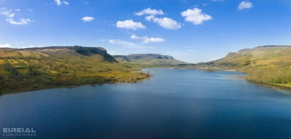 Glenade Lough - County Leitrim - Digital Download. - Aerial Creations - Amazing Aerial Photography of Ireland.