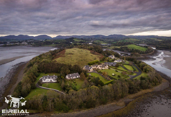 Muckross, St. Ernans, Donegal Town, Co. Donegal. - Digital Download - Aerial Creations - Amazing Aerial Photography of Ireland.