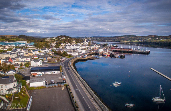 Killybegs, Donegal on Canvas - Aerial Creations - Amazing Aerial Photography of Ireland.