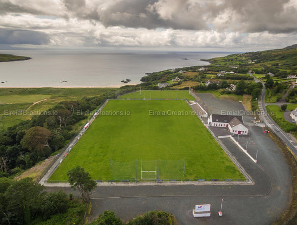 Killybegs GAA Pitch, Fintragh, Donegal - Digital Download - Aerial Creations - Amazing Aerial Photography of Ireland.
