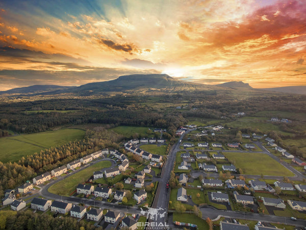 EireialCreations Aerial shot of The Dartry Mountains near Kinlough, Leitrim 02. - Digital Download