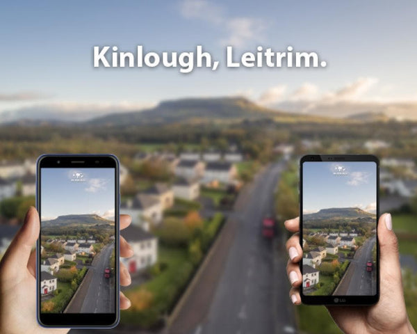 Free Wallpaper! Kinlough, Leitrim. - Aerial Creations - Amazing Aerial Photography of Ireland.