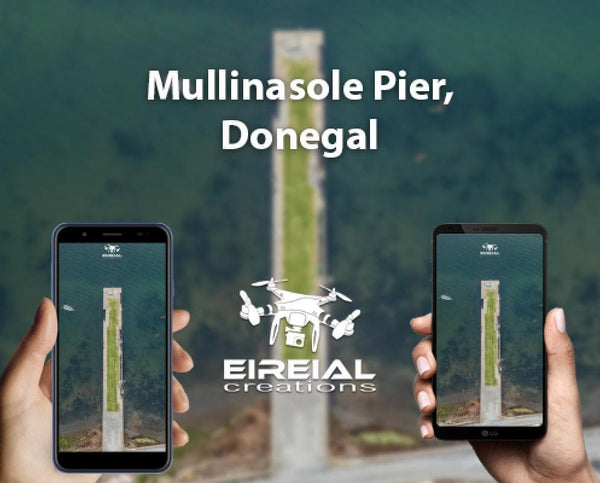 Free Wallpaper! Mullinasole Pier, Donegal. - Aerial Creations - Amazing Aerial Photography of Ireland.