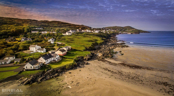 Narin Strand, Donegal on Canvas. - Aerial Creations - Amazing Aerial Photography of Ireland.