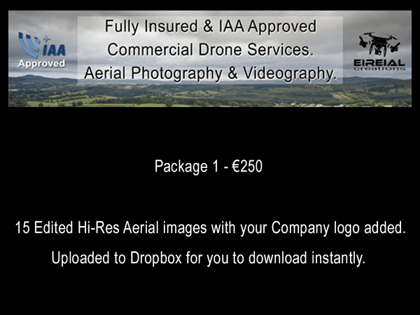 Property/Business Aerial Photography Packages from €250 - Aerial Creations - Amazing Aerial Photography of Ireland.