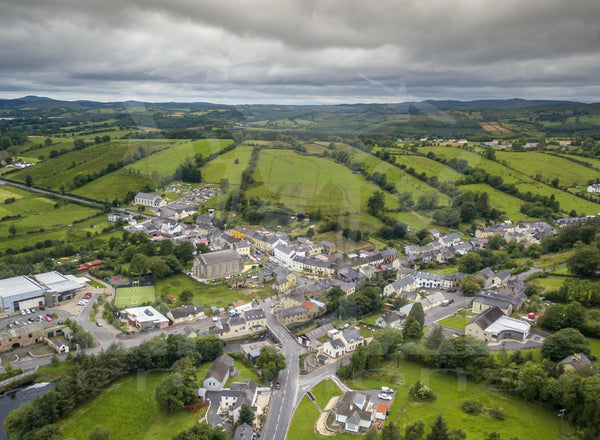 Pettigo, County Donegal - Digital Download - Eireial Creations - Drone Operator - Aerial Photography Ireland
