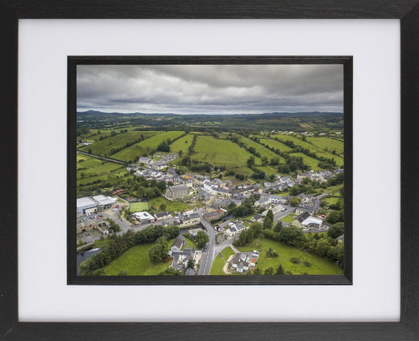 Framed Print of Pettigoe, Donegal. - Aerial Creations - Amazing Aerial Photography of Ireland.