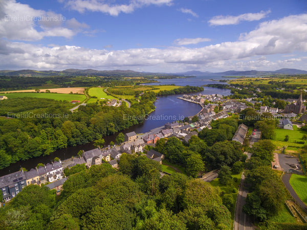 Ramelton, Donegal. - Digital Download - Eireial Creations - Drone Operator - Aerial Photography Ireland