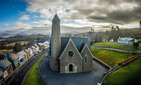 St Patrick's Chapel, Donegal Town, on Canvas. - Aerial Creations - Amazing Aerial Photography of Ireland.