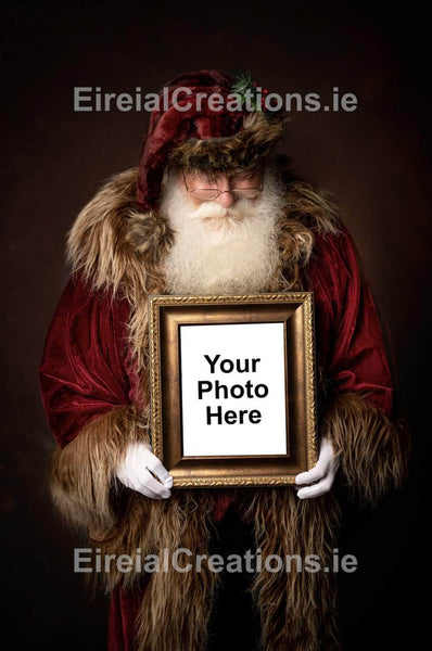 A memorable Digital Santa Image for 2020 - Aerial Creations - Amazing Aerial Photography of Ireland.