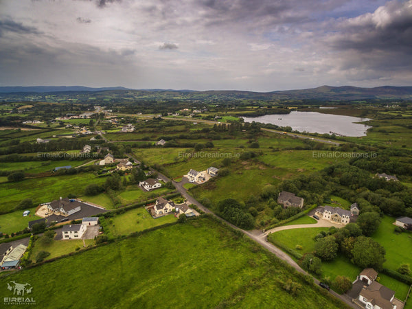 The Old Road and St. Peter's Lake Mountcharles, Donegal. - Digital Download - Aerial Creations - Amazing Aerial Photography of Ireland.