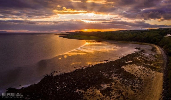 The Beach, Mountcharles, County Donegal. - Digital Download. - Aerial Creations - Amazing Aerial Photography of Ireland.