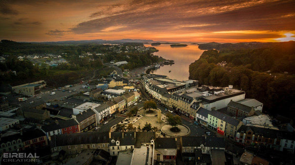 Donegal Town, County Donegal - Digital Download. - Eireial Creations - Drone Operator - Aerial Photography Ireland