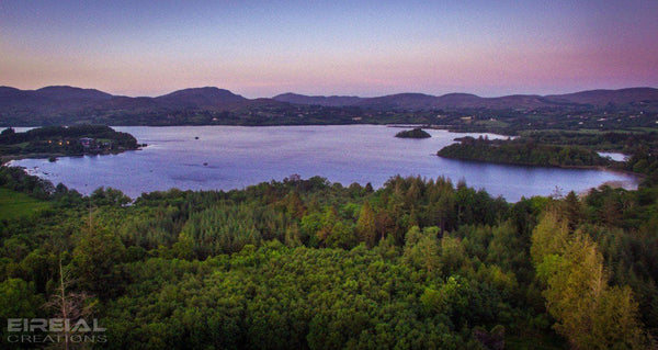 Lough Eske, County Donegal - Digital Download. - Aerial Creations - Amazing Aerial Photography of Ireland.