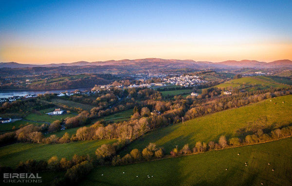 The Hills, Donegal on Canvas. - Aerial Creations - Amazing Aerial Photography of Ireland.