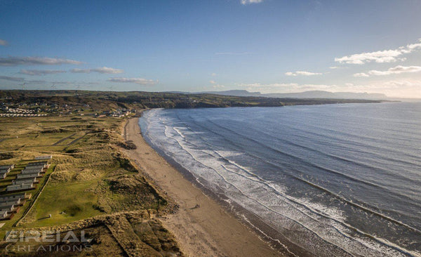 Rossnowlagh Beach, County Donegal - Digital Download. - Aerial Creations - Amazing Aerial Photography of Ireland.