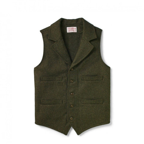 Mackinaw Western Vest - Green