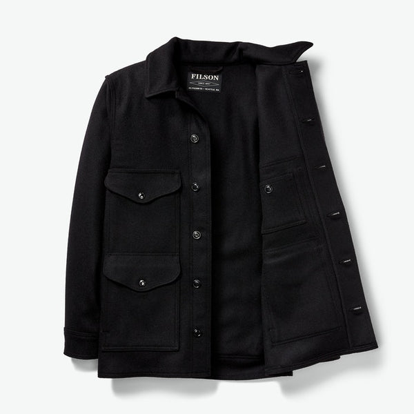 Filson Jakki - Mackinaw Cruiser - Dark Navy