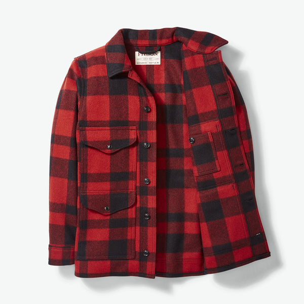 Filson Jakki - Mackinaw Cruiser - Red Black