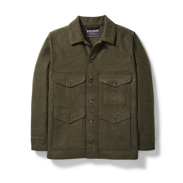 Filson Jakki - Mackinaw Cruiser - Forest Green