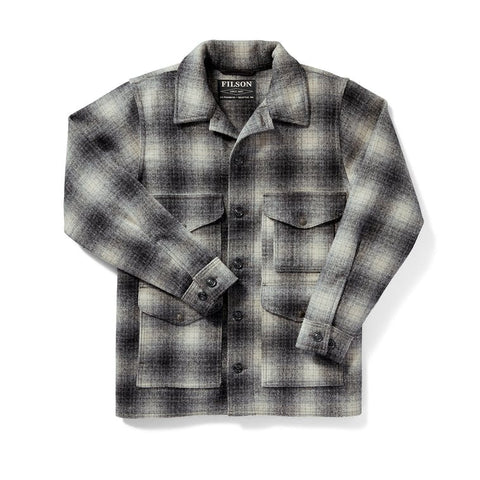 Filson Jakki - Mackinaw Cruiser - Grey Charcoal