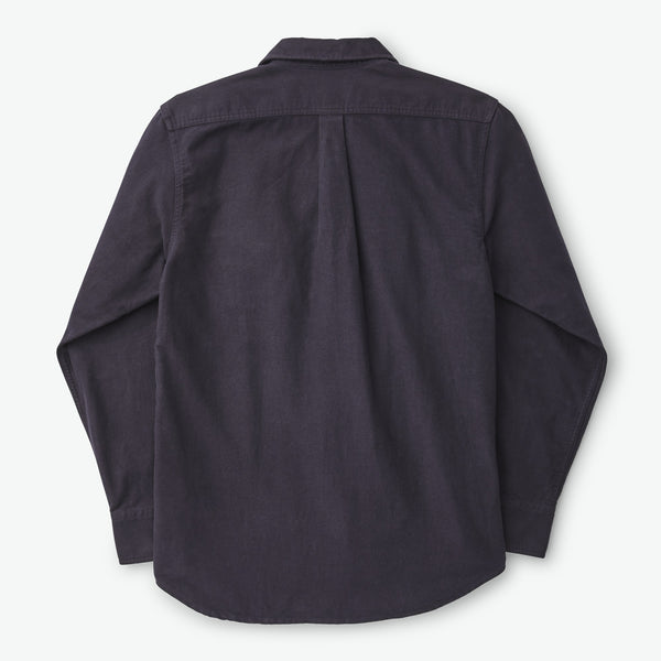 Filson Skyrta - Moleskin Seattle Shirt - Navy