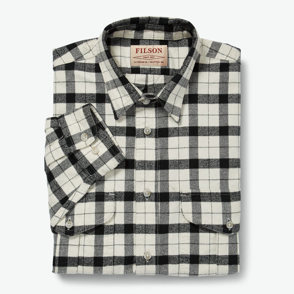 Filson Skyrta - Alaskan Guide Shirt - Cream / Black