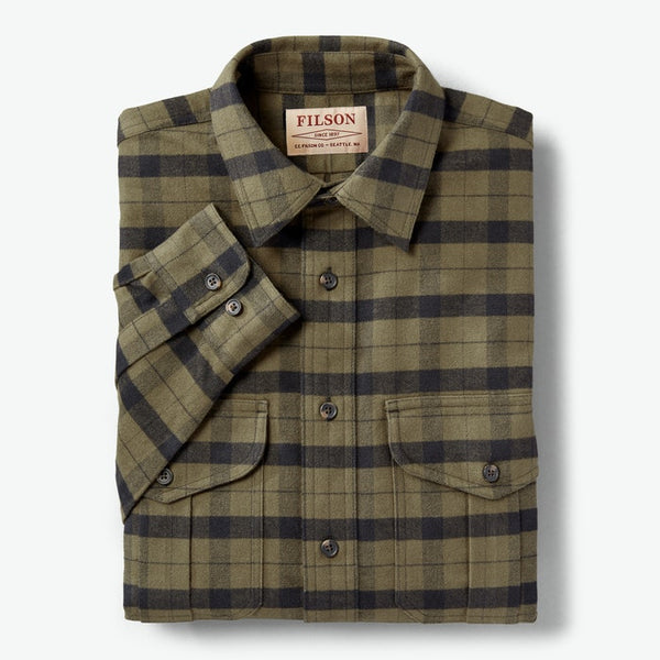 Filson - Alaskan Guide Shirt - Otter Green Black