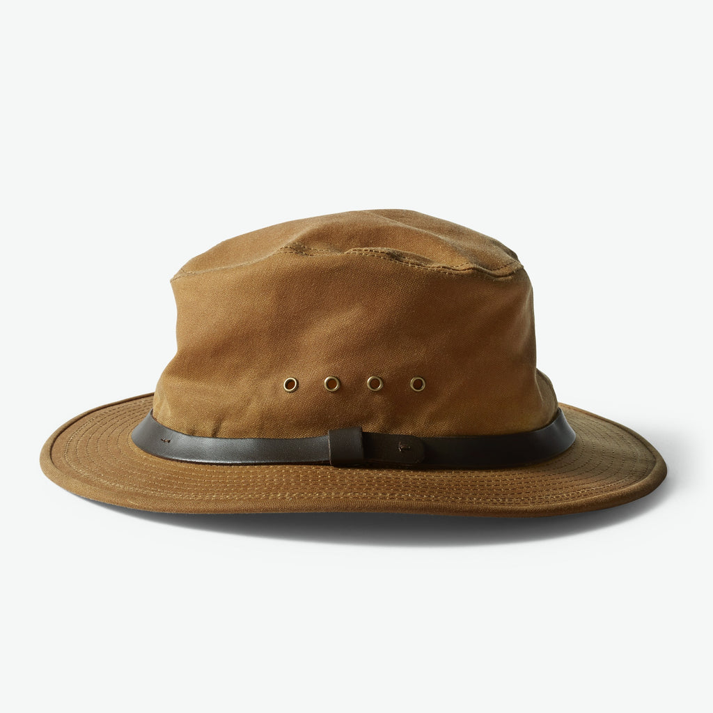 Filson Hattur - Tin Packer Hat - Dark Tan