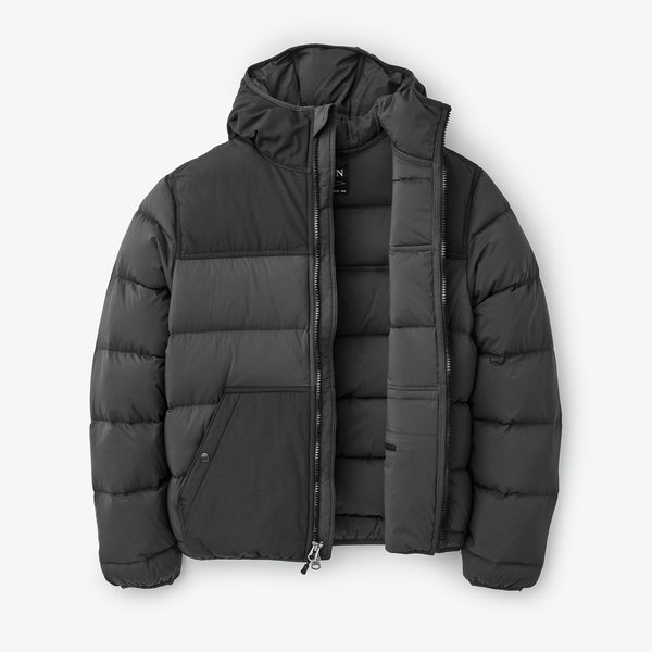 Filson Dúnúlpa - Featherweight Down Jacket - Faded Black