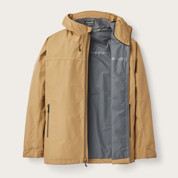 Filson Jakki - Swiftwater Rain Jacket - Dark Tan