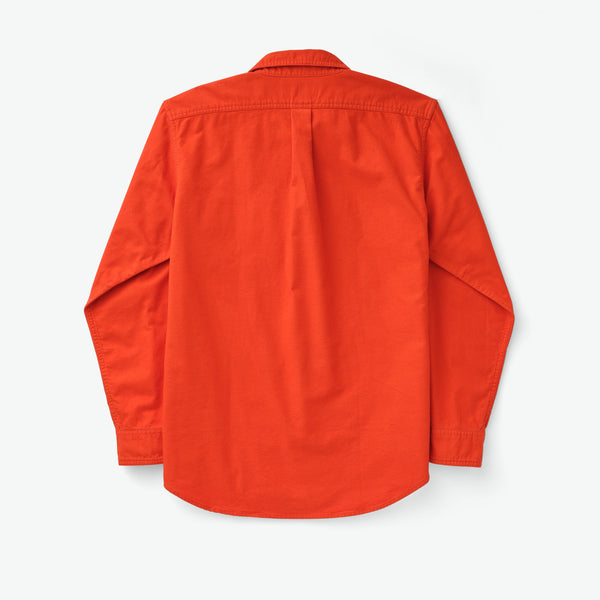 Filson Skyrta - Field Flannel Shirt - Pheasant Red