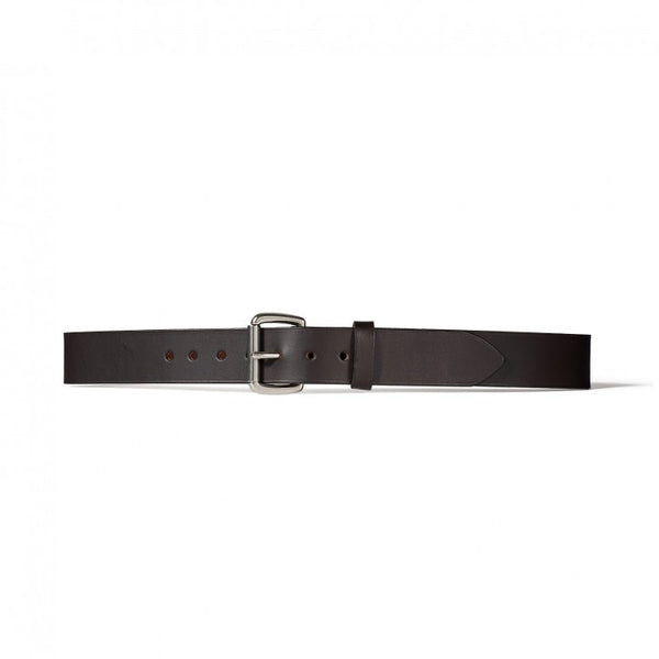 "1 1/2"" Leather Belt - Black"