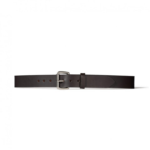 "Filson -  1/2"" Leather Belt - Black"